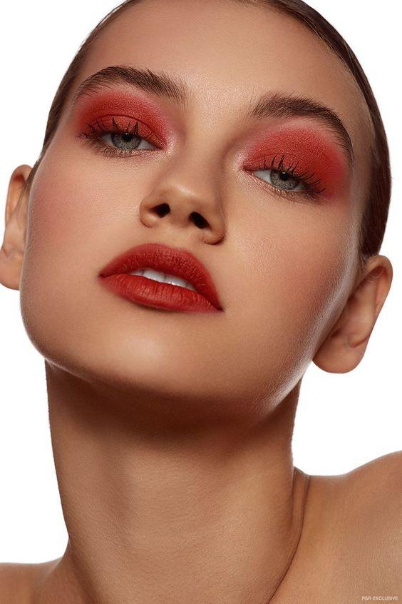 Самые красивые макияжи осени