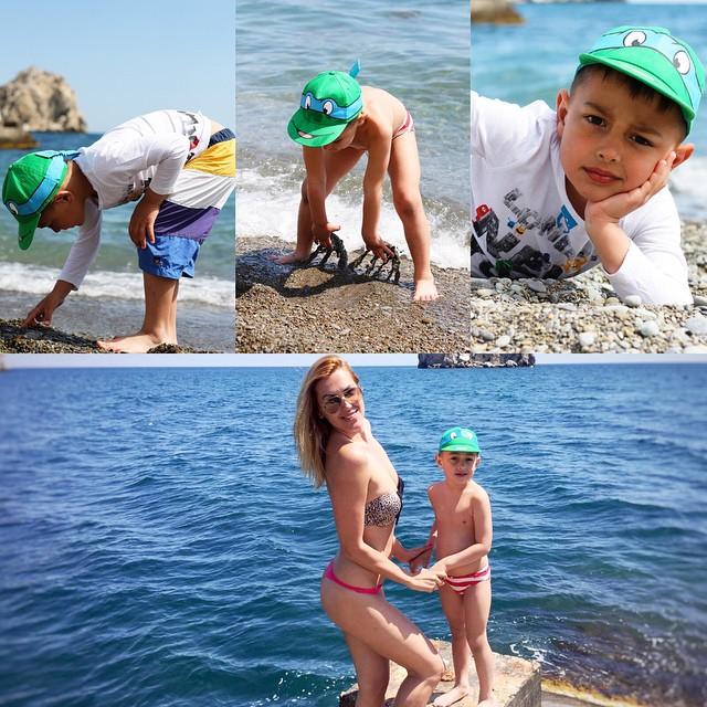 Яна Клочкова уехала на майские праздники в Крым