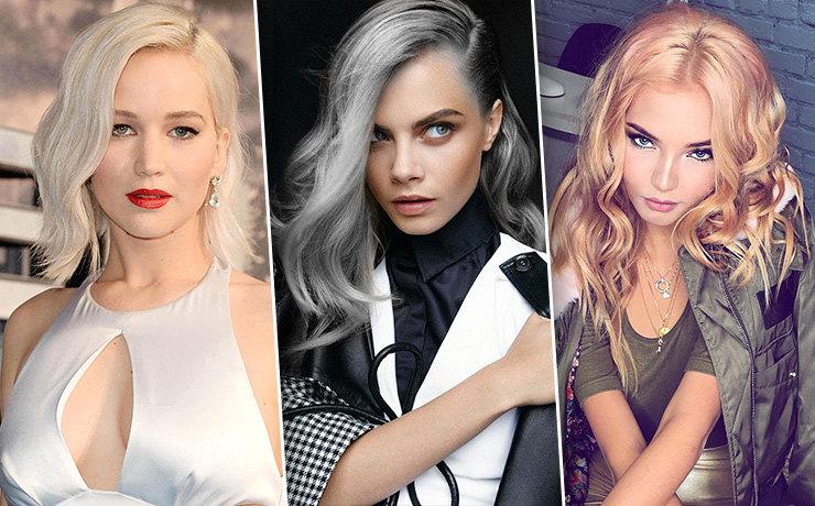 Дженифер Лоуренс и Кара Делевинь могут себе позволить благородный платиновый блонд