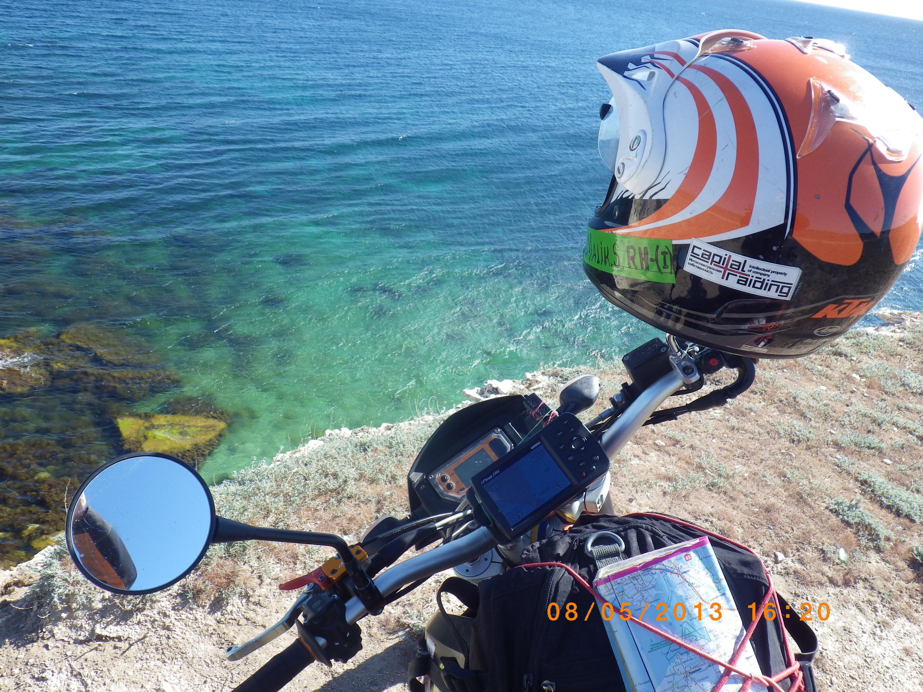 В Сети появился фильм мотоциклиста о путешествии Украиной
