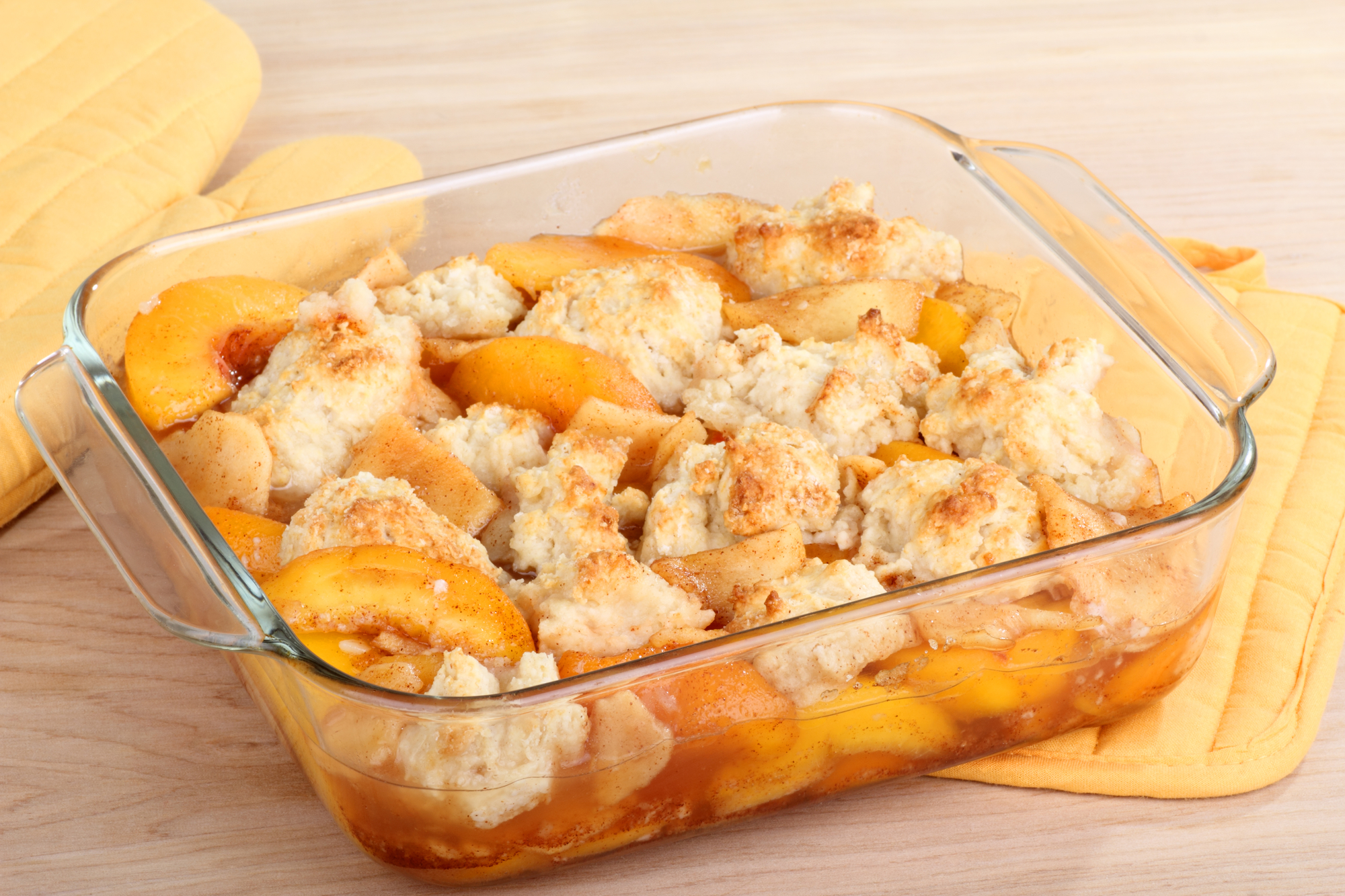 Кухни мира: персиковый коблер по-американски