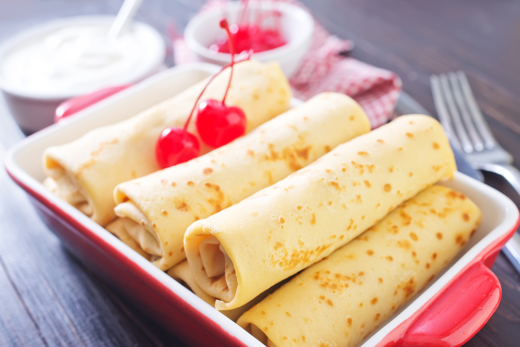 блины на завтрак быстро и вкусно рецепты