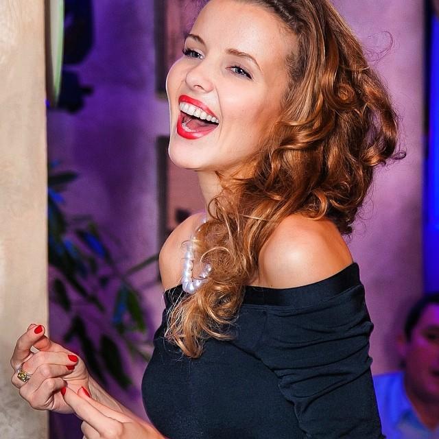 Украинская модель и телеведущая Инна Цимбалюк