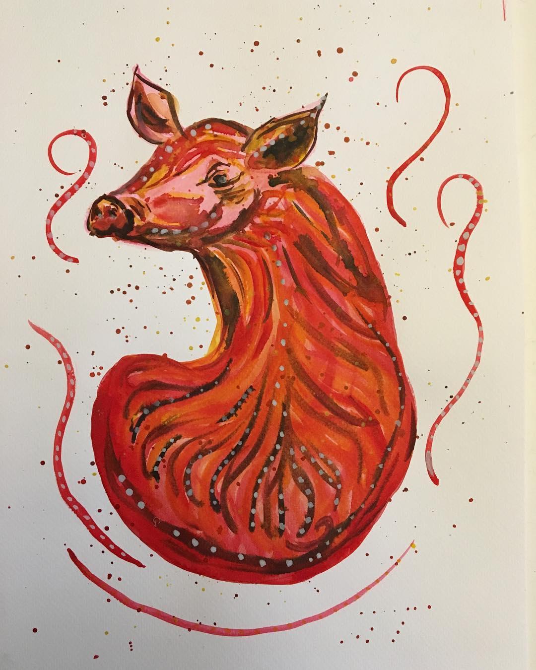 Символ года - Земляная Свинья