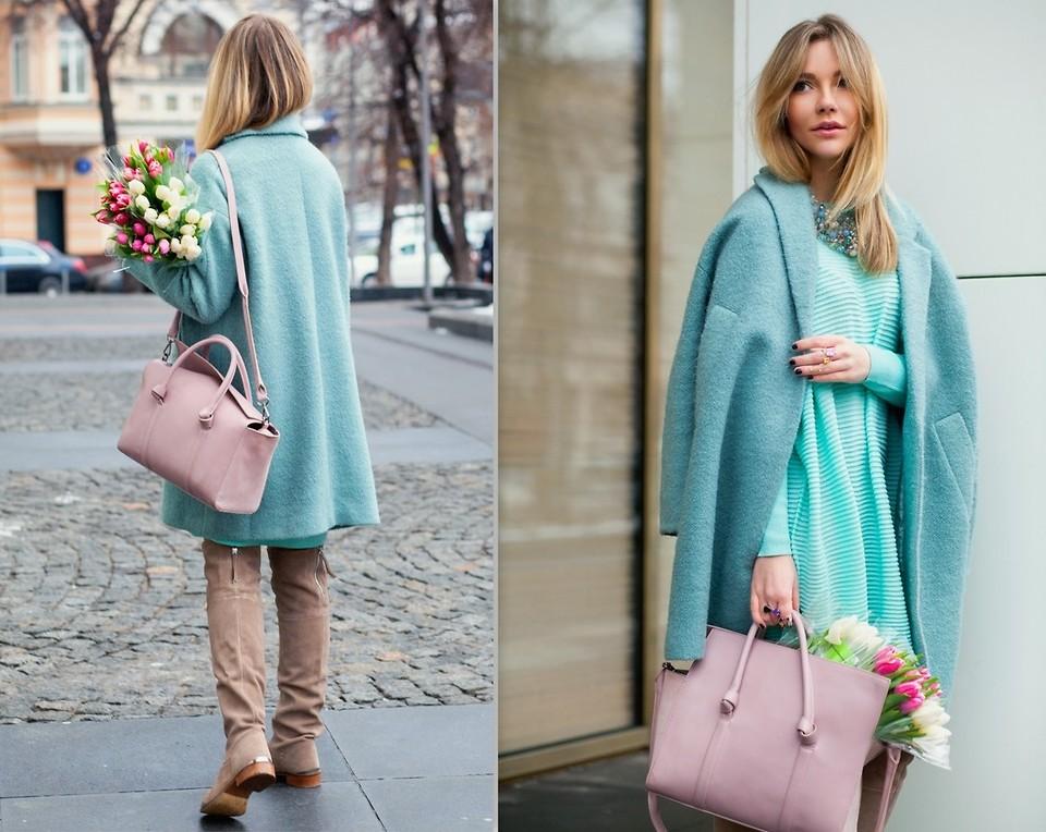 Пальто сочного цвета поднимет тебе настроение