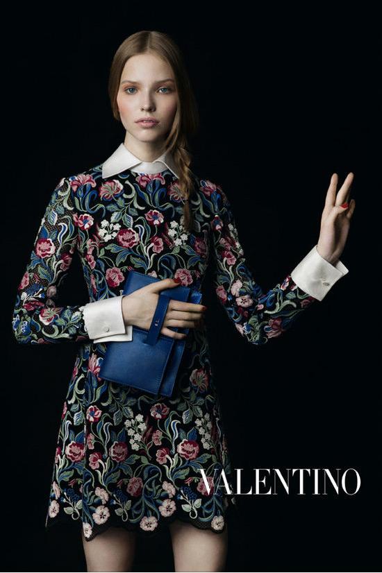 Дизайнеров Valentino вдохновили цветочные натюрморты фламандцев
