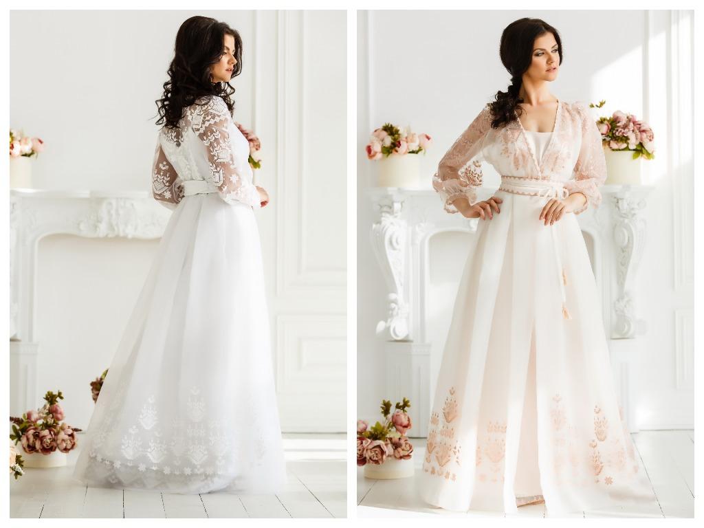 Прозрачные платья могут иметь подкладку телесного цвета и не ограниченное количество отделки