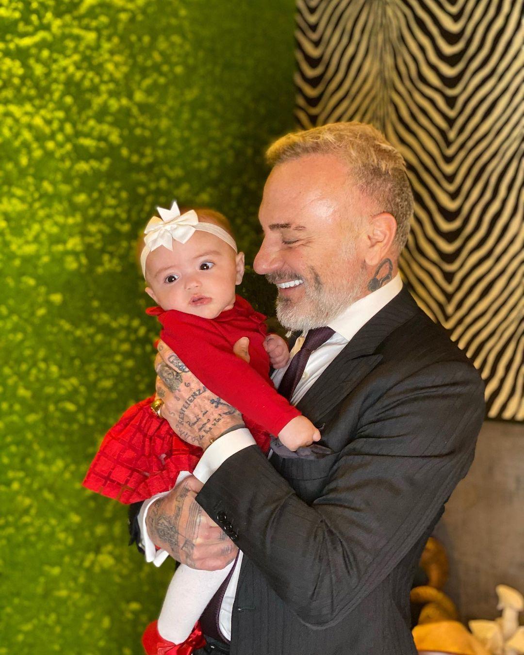Джанлука Вакки со своей дочерью