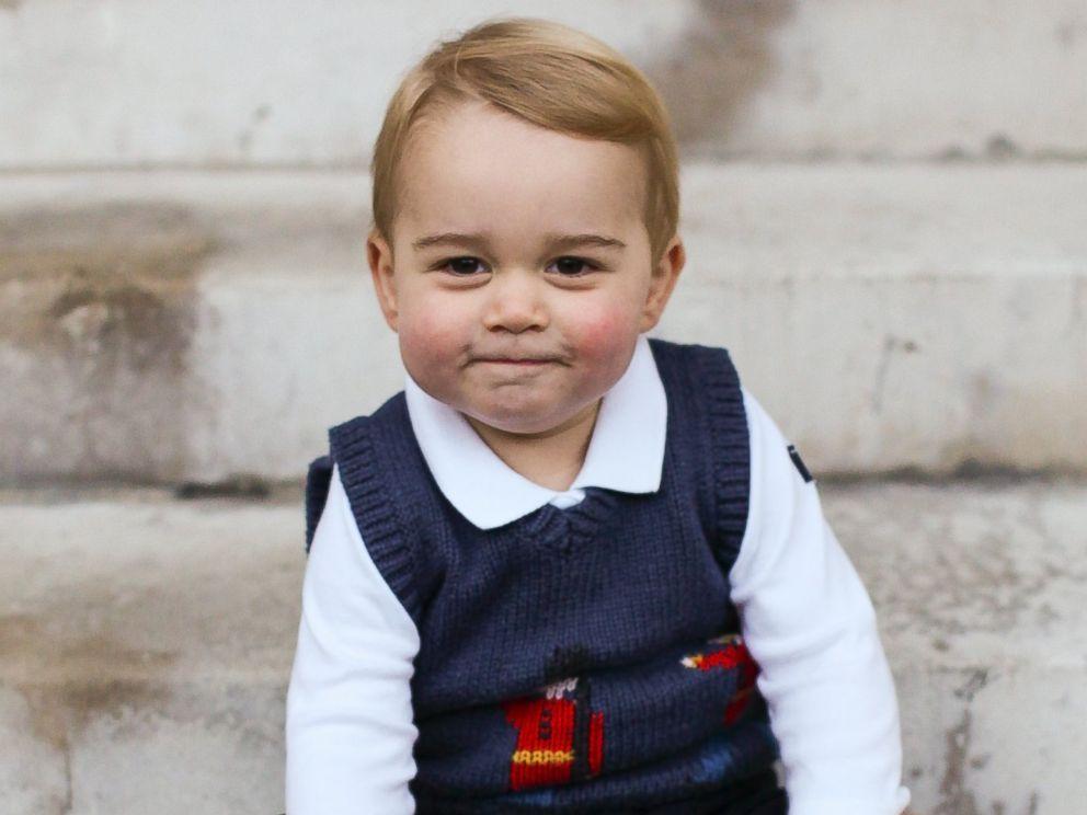 Новость дня: У принца Джорджа появился маленький двойник