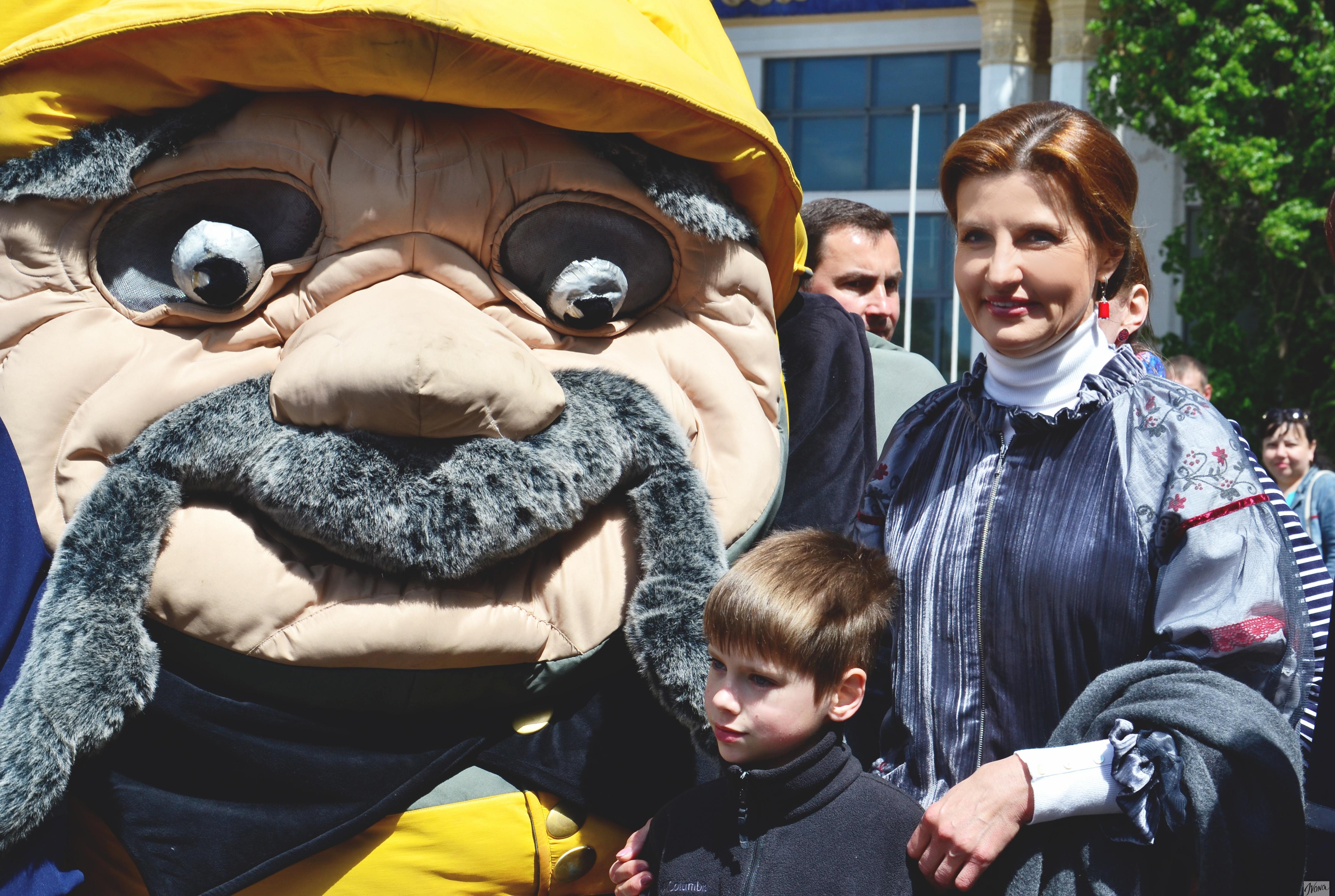Марина Порошенко посетила открытие детского