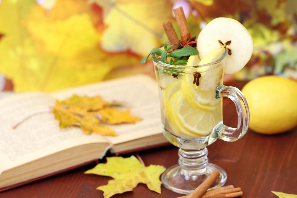 Осенние фото с яблоками