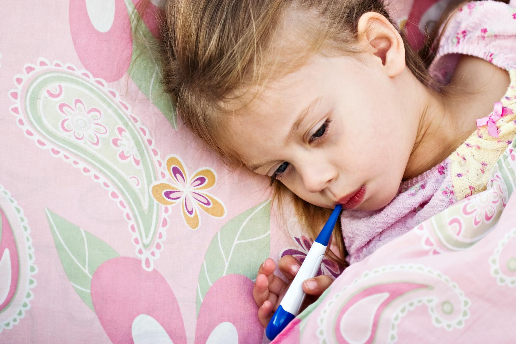 Сбить температуру ребенку до года в домашних условиях