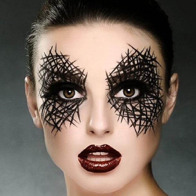 Подготовка к Хэллоуину идёт полным ходом: тонкости и топовые идеи грима для создания образа