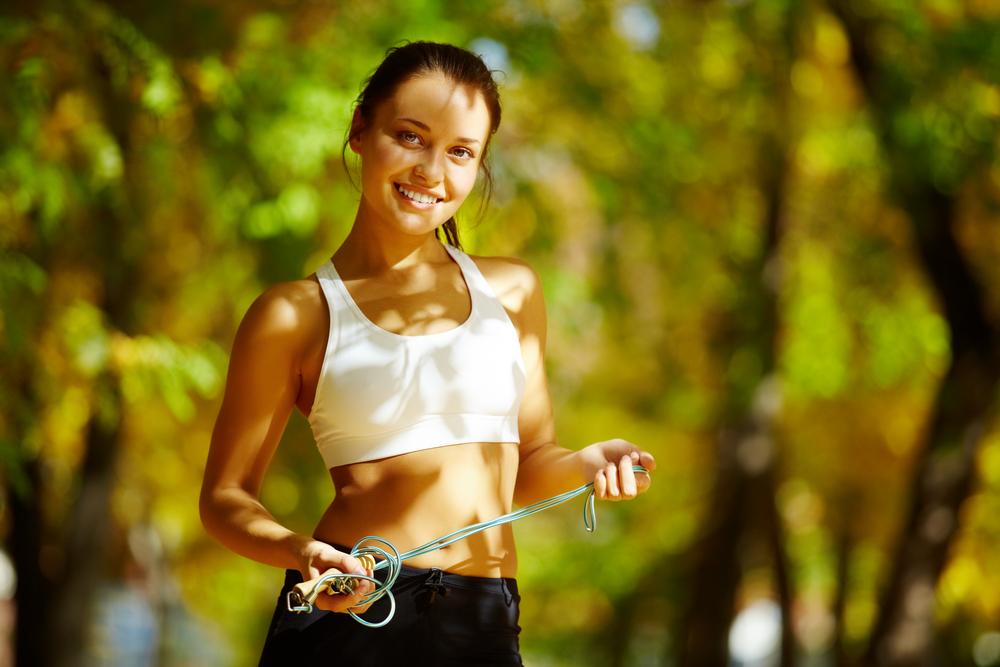скакалка или бег для похудения