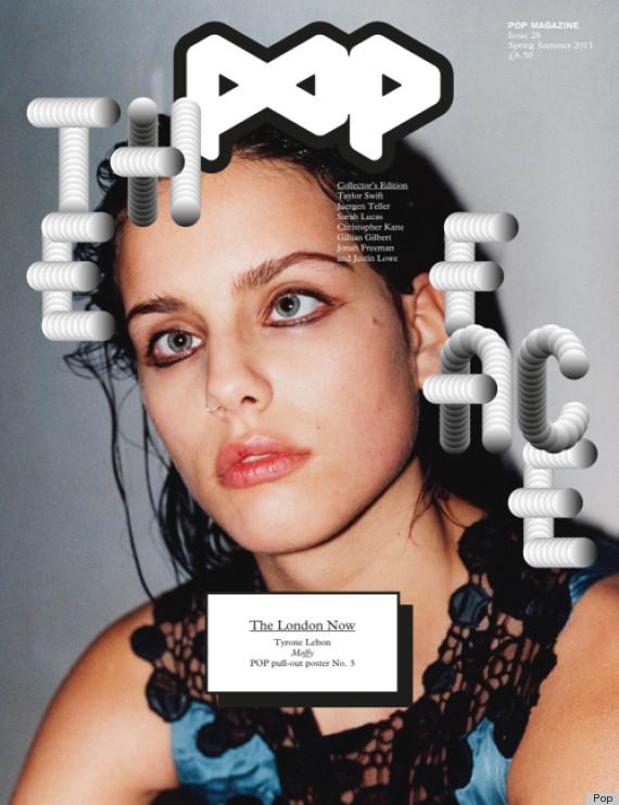 Модель Моффи Модело на обложке Pop Magazine