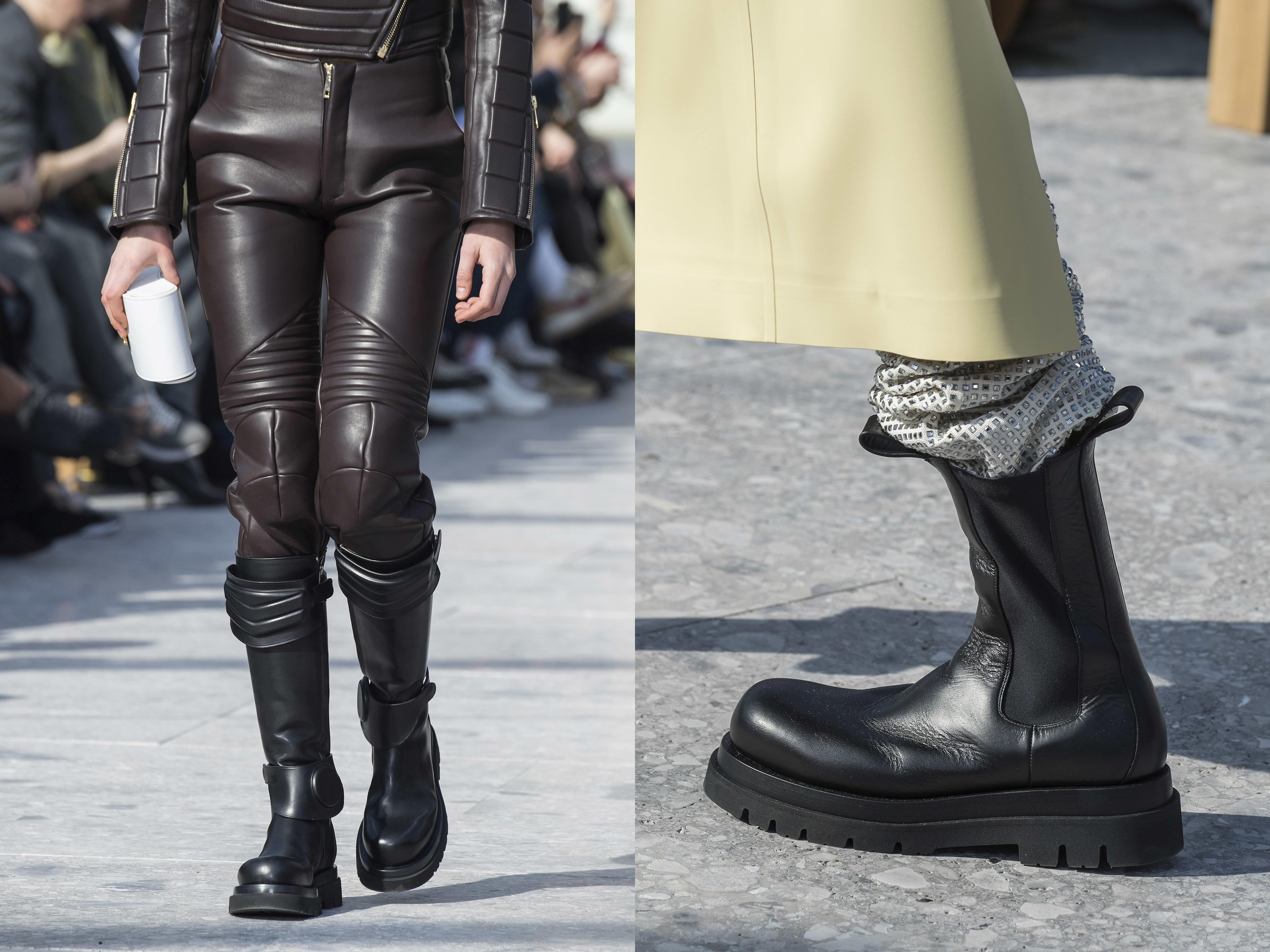 Ботинки на грубой подошве - модный обувной хит осени 2019