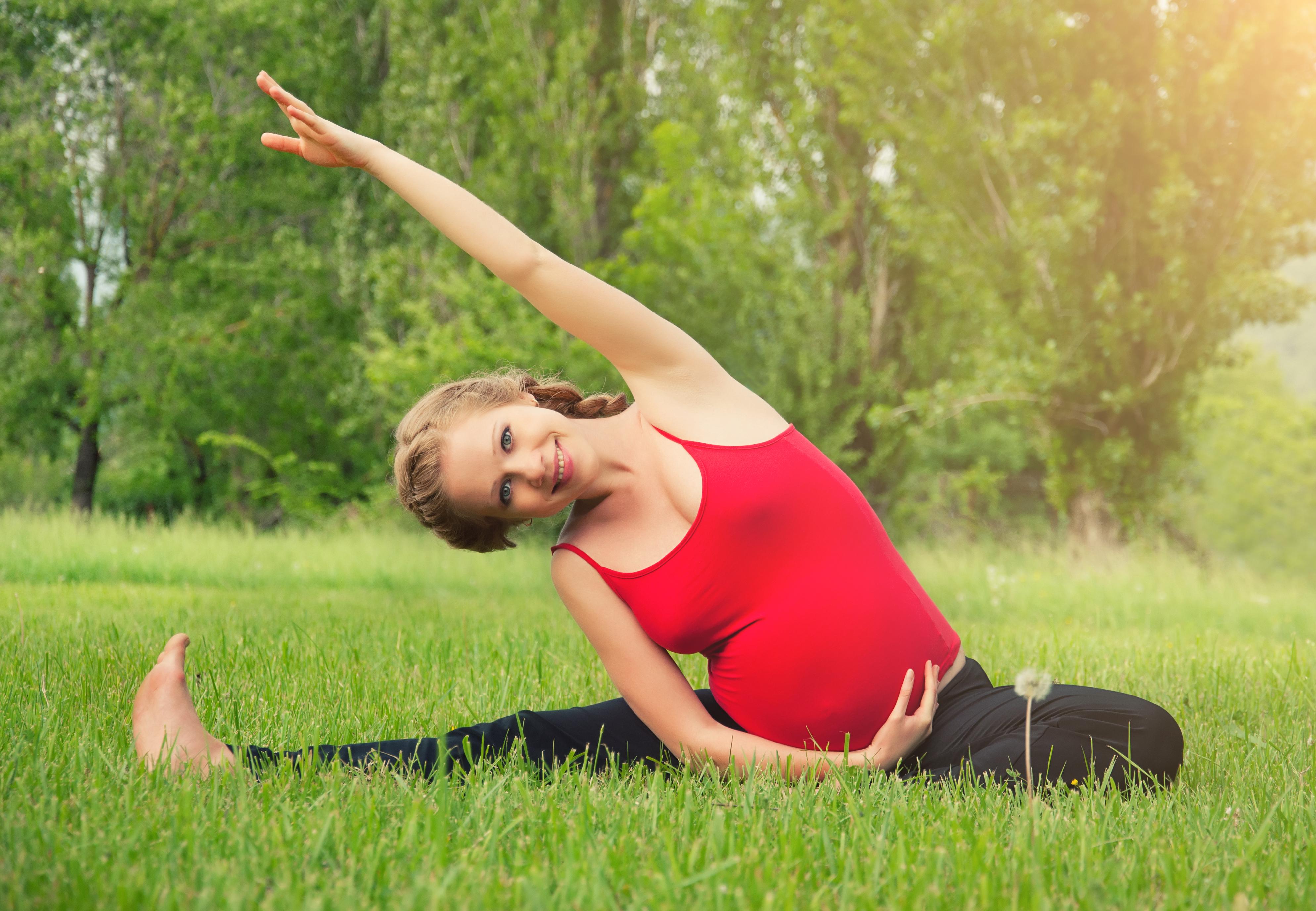 Зачем нужна гимнастика во время беременности