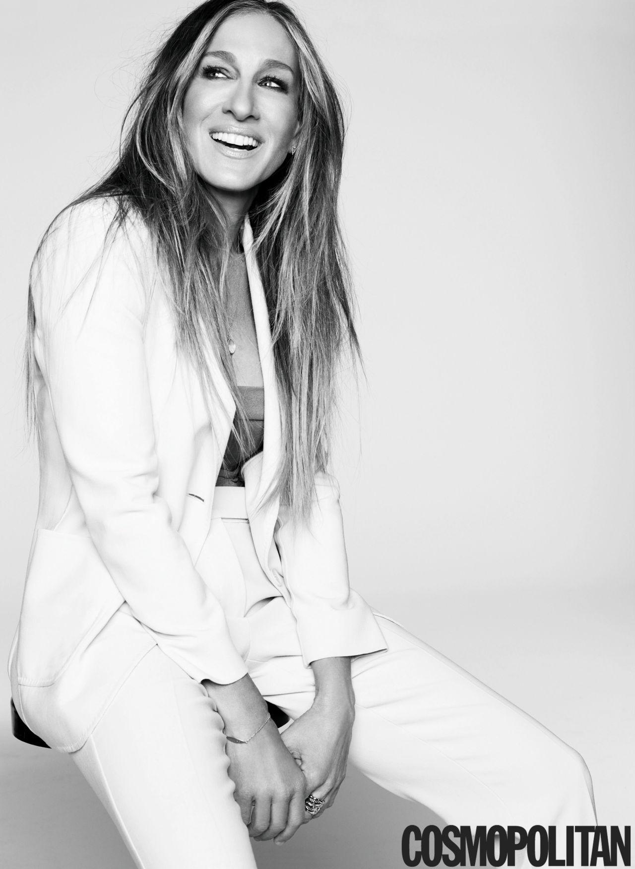 Актриса Сара Джессика Паркер в журнале Cosmopolitan