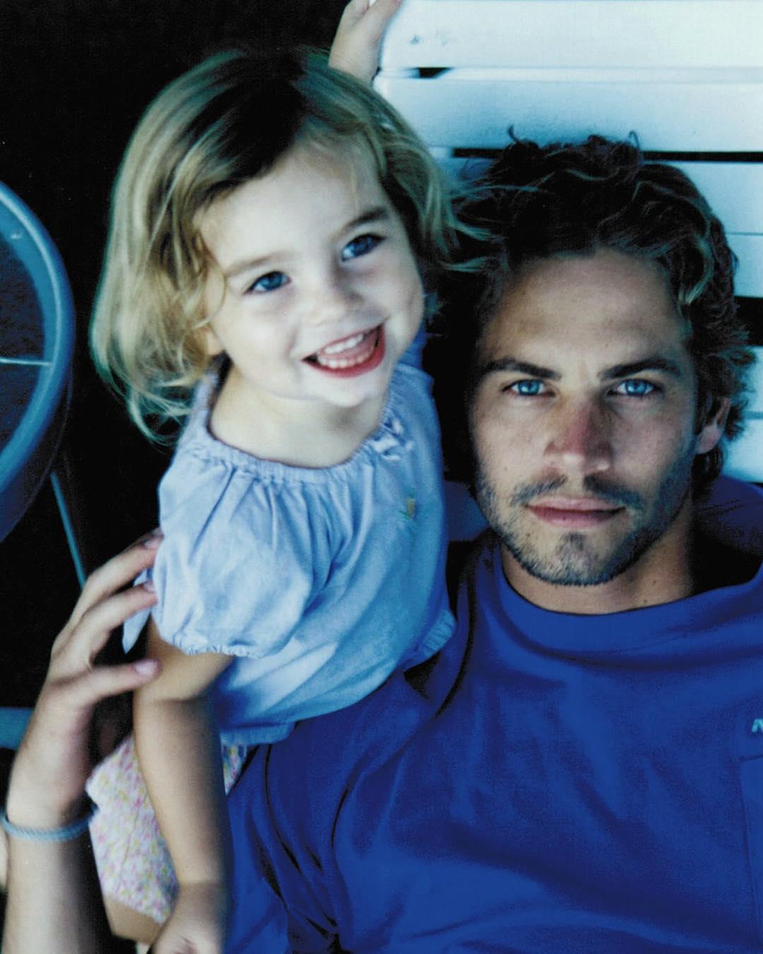 Архивное фото Пола Уокера с дочкой Мэдоу