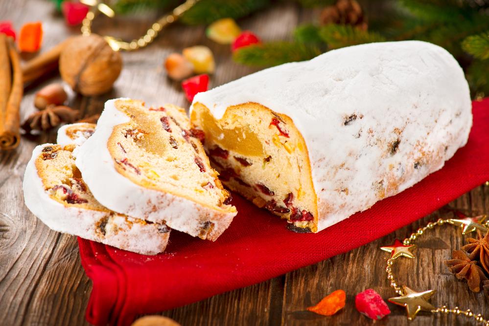 Рождественский кекс штолен рецепт