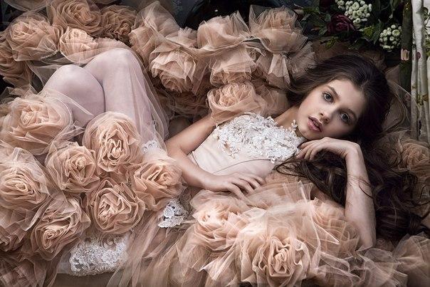 Маленькая украинка была признана самой красивой девочкой в мире
