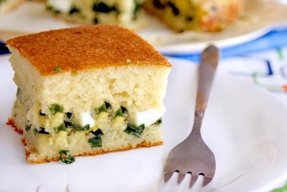 Пирог с рисом и яйцом и луком рецепт 5
