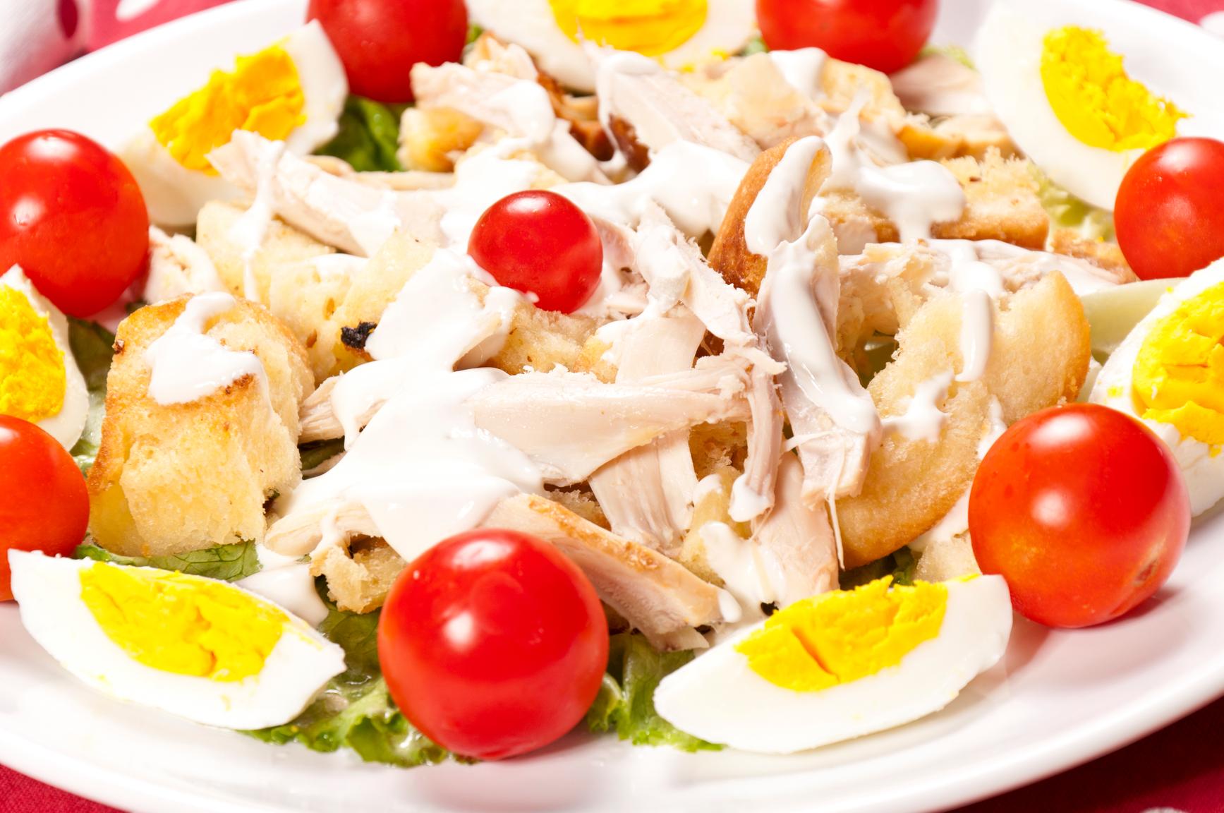 салат лондонский рецепт курица яйца помидоры огурцы