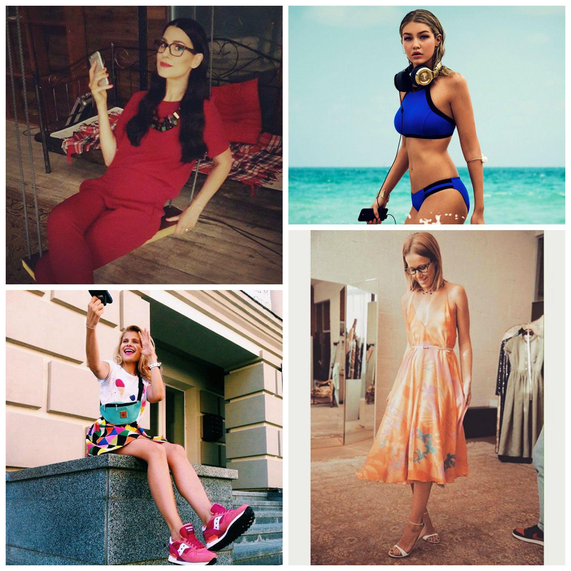 Самые стильные фото звезд из Instagram