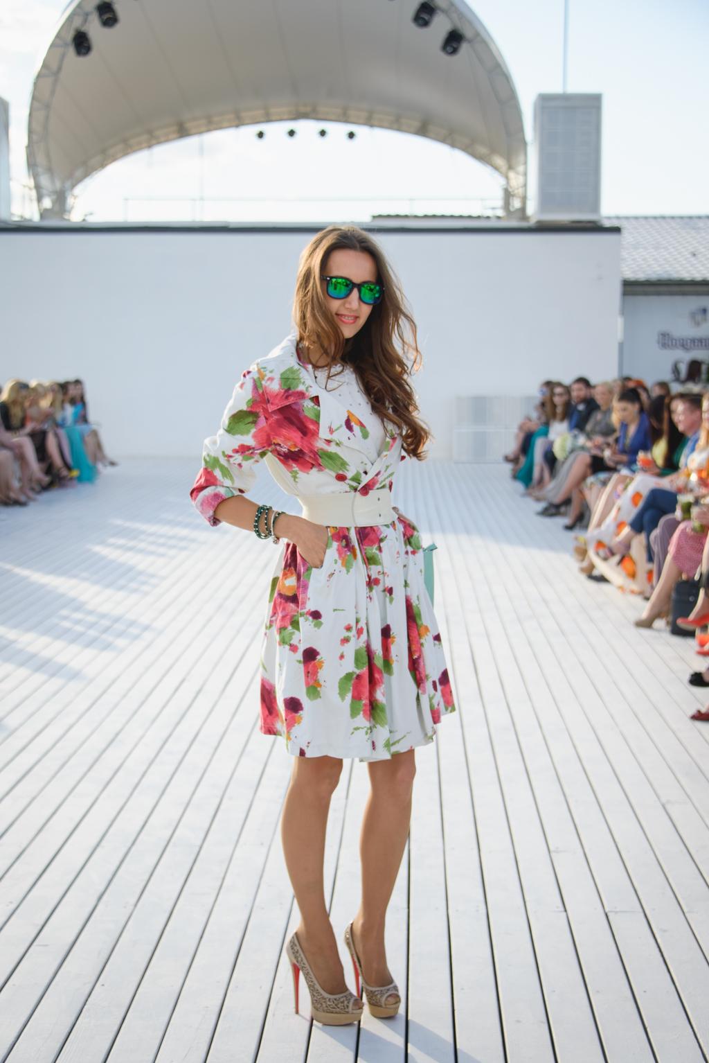 Цветочный принт покорил сердца не только зарубежных звезд, но и украинских модниц