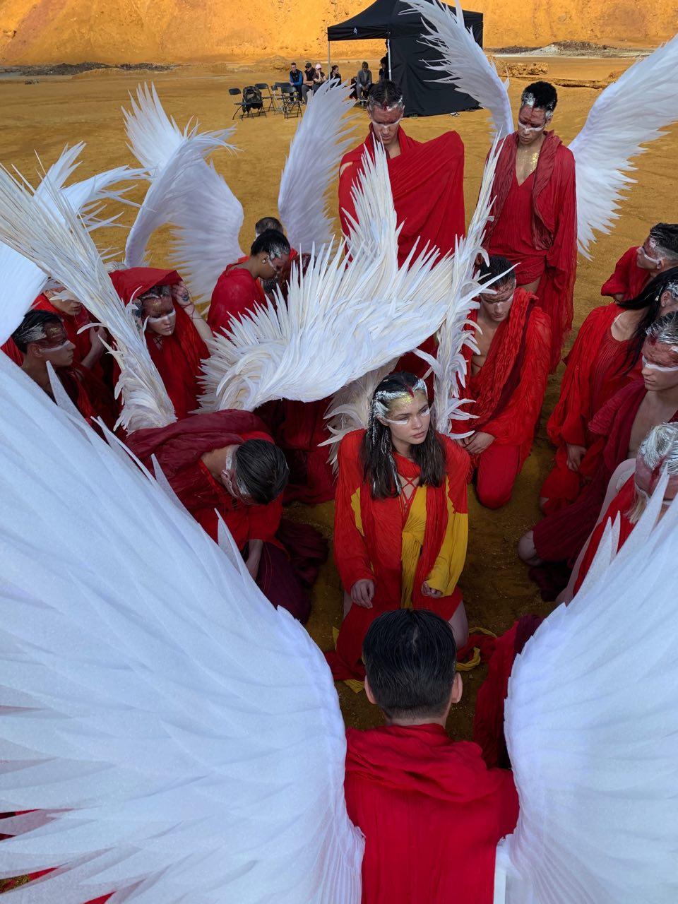 Легенда об однокрылых ангелах: Бадоев снял клип для Димаша Кудайбергенова