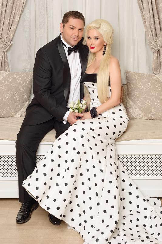 Катя Бужиснкая с мужем Дмитрием