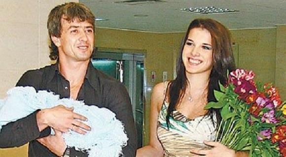 Ольга с мужем Андреем Романовским