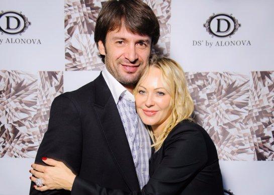 Александр Шовковский с бывшей женой Ольгой Аленовой