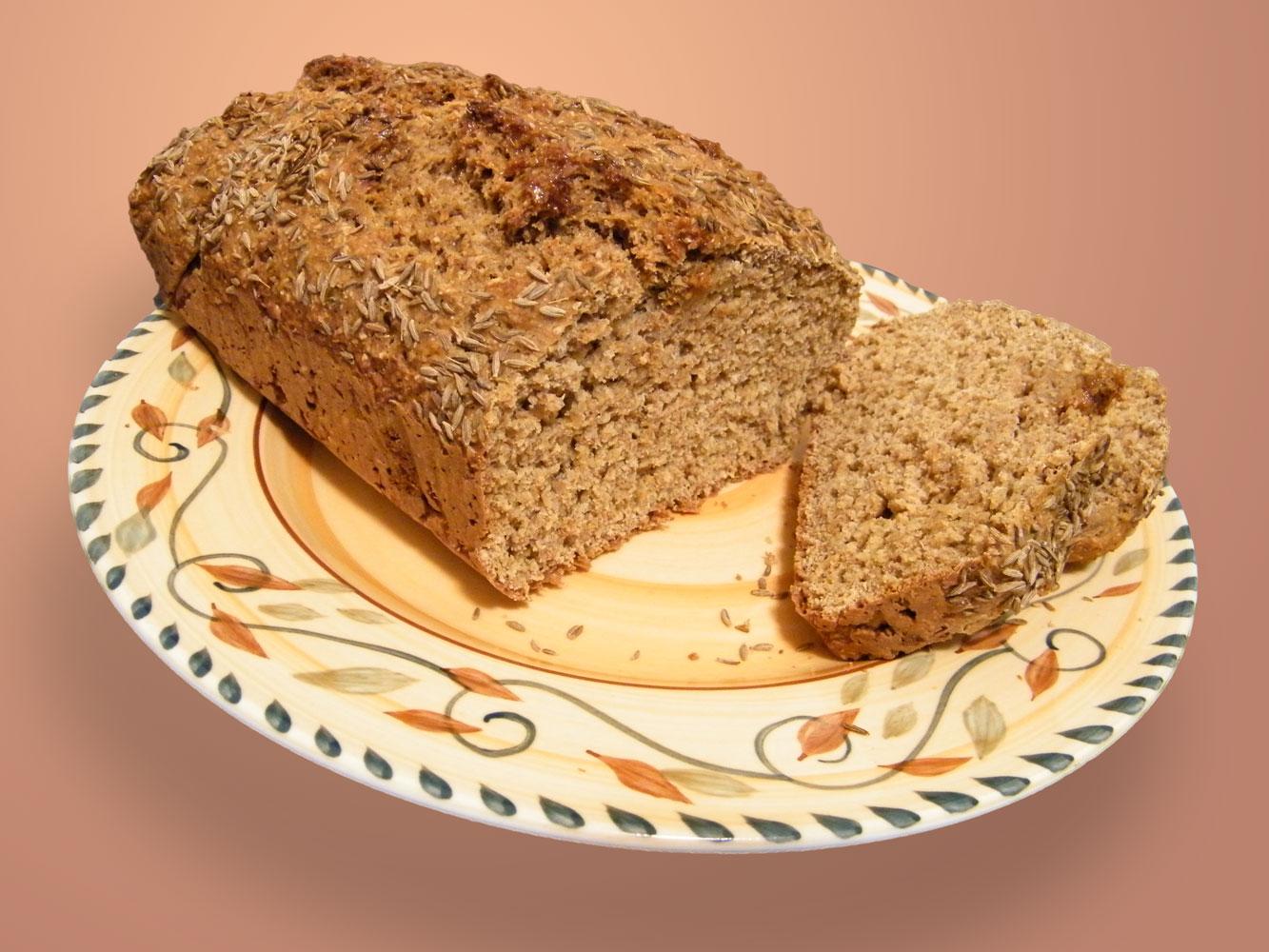 Хлеб из цельнозерновой муки без дрожжей долго хранится