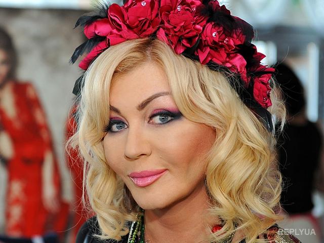 Украинская певица Ирина Билык