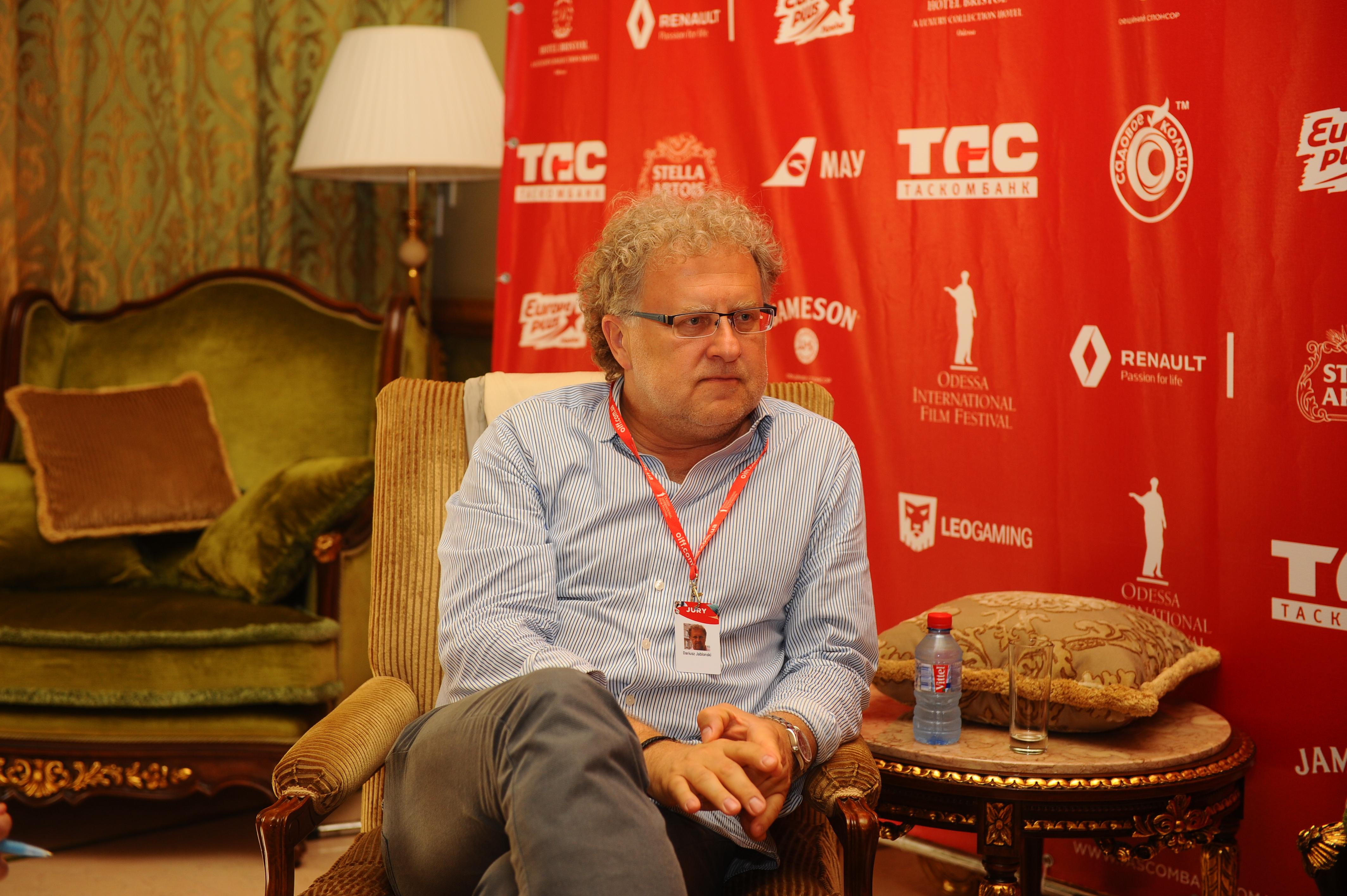 Одесский кинофестиваль: Дариуш Яблонски