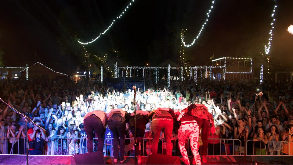 Музыканты группы Undiscovered Soul на фестивале Коктебель Джаз Фест 2015 в Затоке