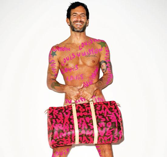 Марк Джейкобс даже разделся для рекламы Louis Vuitton