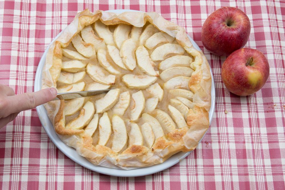 Очень быстрые рецепты из яблок