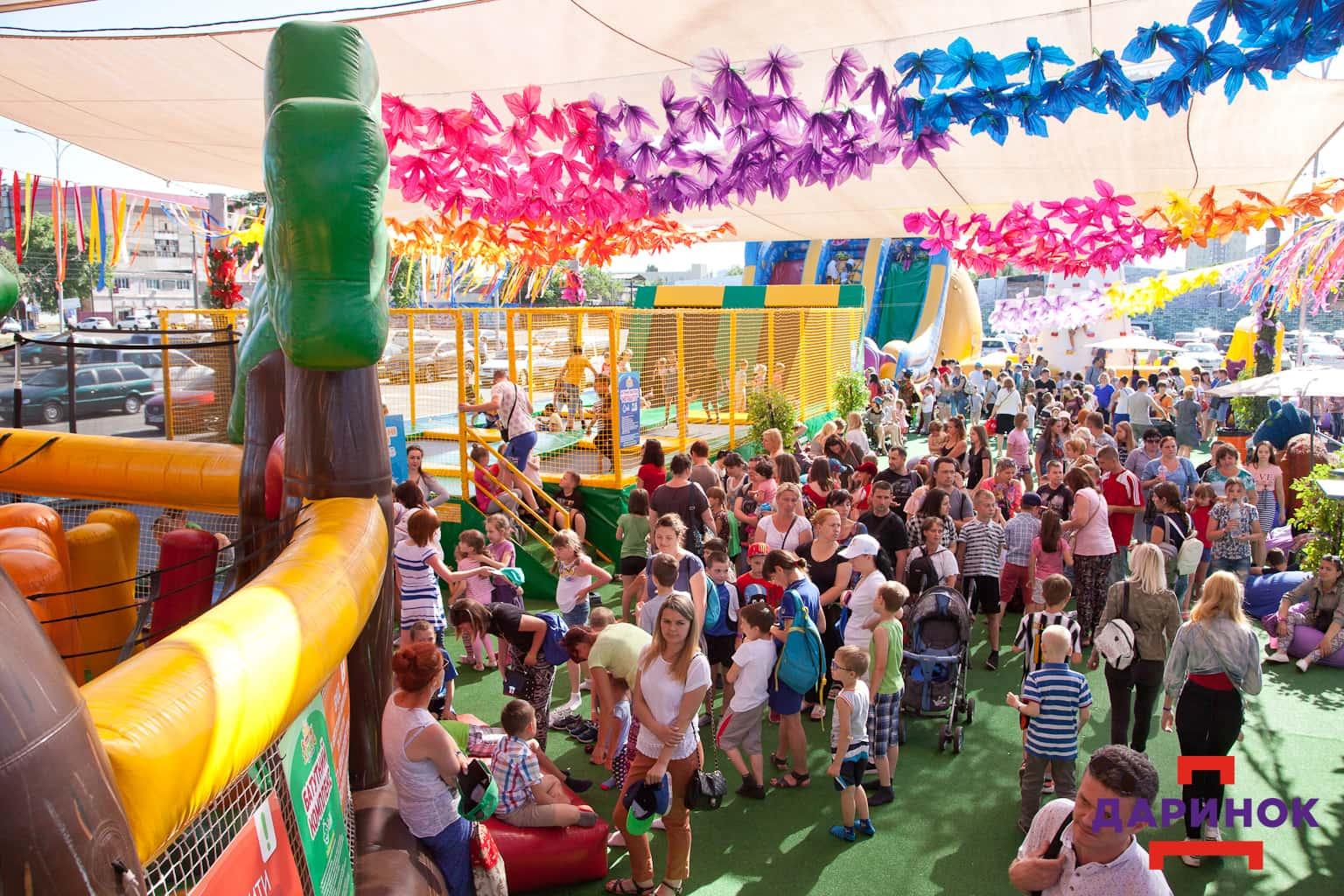 Масштабное открытие батутного городка Summer Park в Киеве