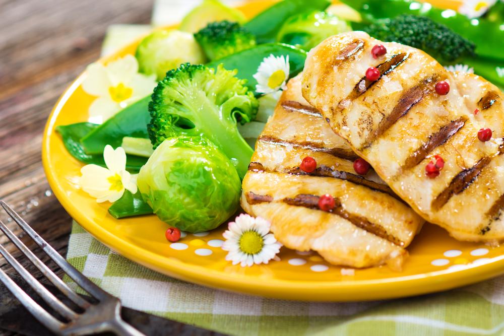 запеченная куриная грудка правильное питание