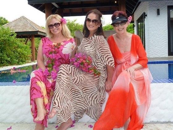 София Ротару с сестрами: Аурикой (справа) и Лидией