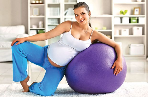 В здоровом теле здоровый дух: Упражнения для беременных двойней
