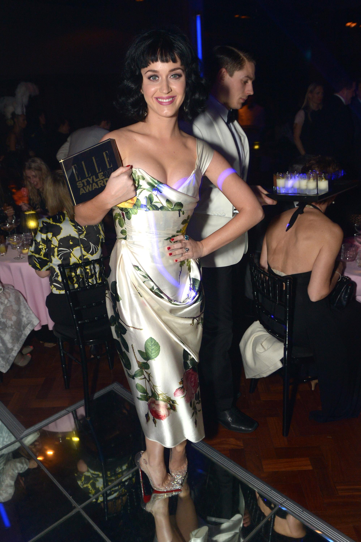 Певица Кэти Перри - женщина года по версии Elle Style Awards 2014