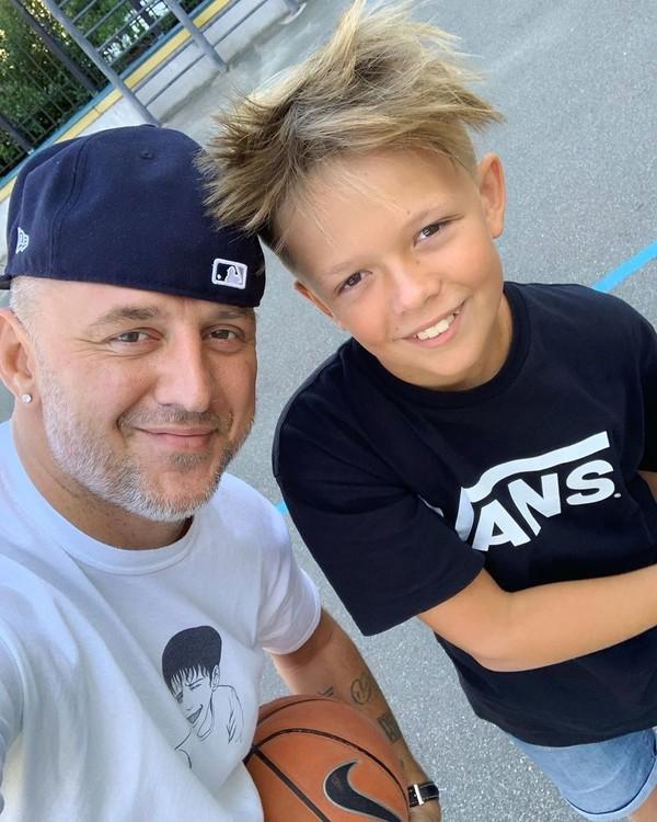 Стиляги: Потап показал, как провел выходные с сыном