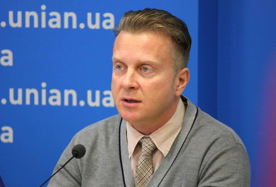 Украинский артист Орест Лютий