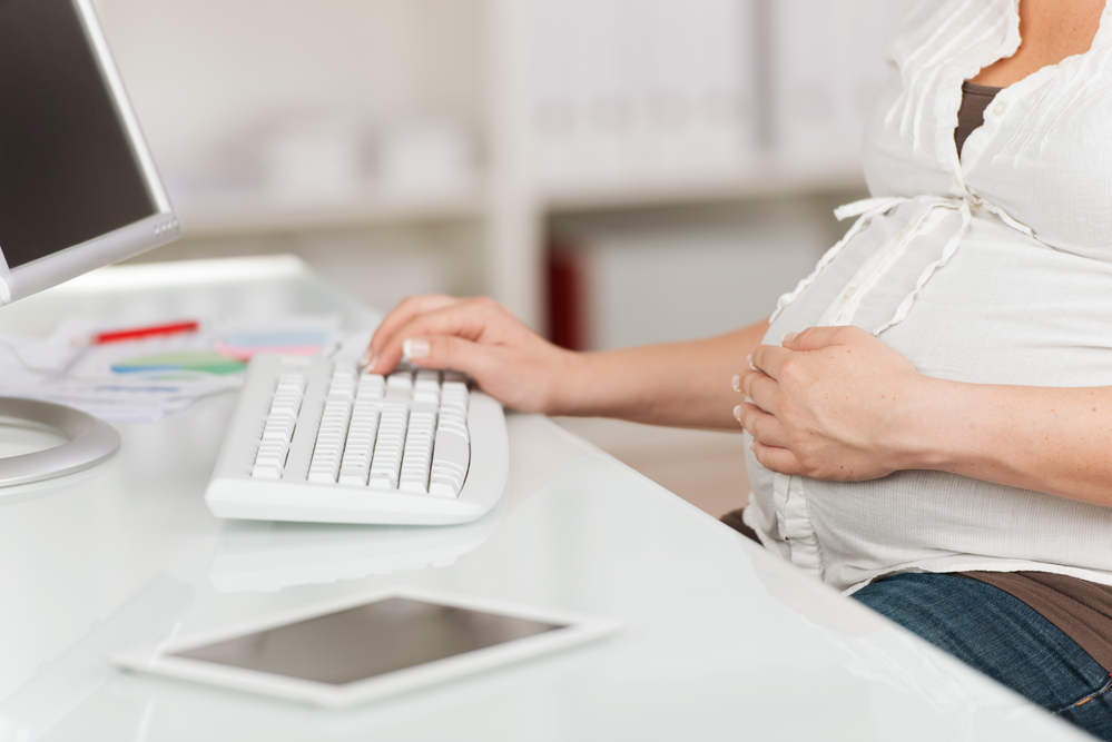 Компьютер для беременной: За и против