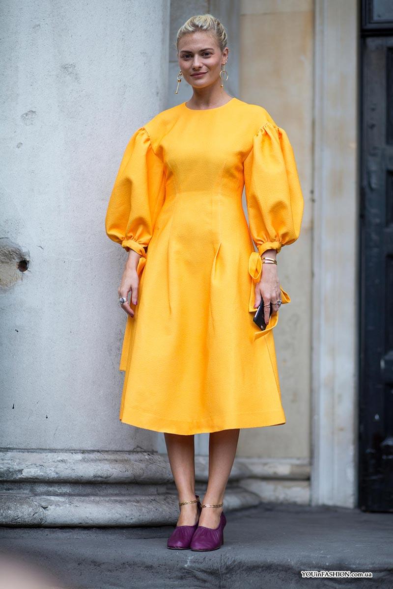 Трендовые платья на весну 2020