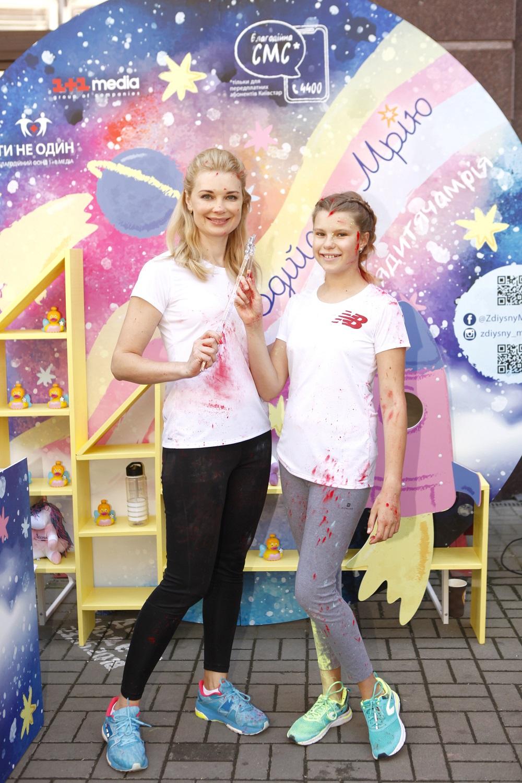 Лилия Таран с дочкой