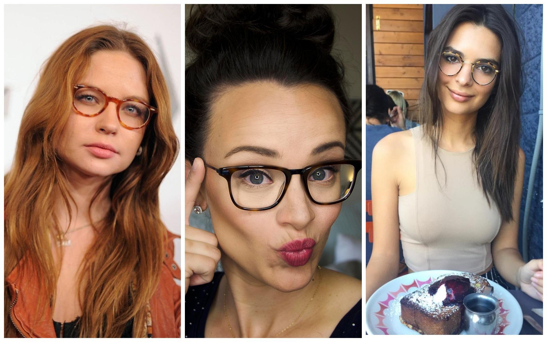 Имиджевые очки выбирают не только юные хипстеры, но и деловые дамы